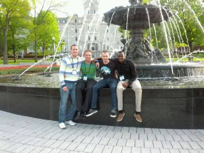 At CSC 2013 in Quebec