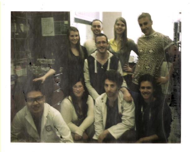 Group Pic: May 2014 - Taken on a Polaroid