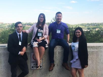 In Edmonton for CSC 2018